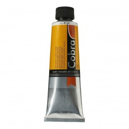 150ml - Cobra Artist Watermixable Oil - Series 2 - Permanent yellow deep