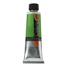 150ml - Cobra Artist Watermixable Oil - Series 3 - Permanent green light
