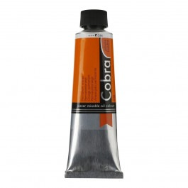 40ml - Cobra Artist Watermixable Oil - Series 2 - Permanent orange