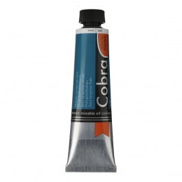 40ml - Cobra Artist Watermixable Oil - Series 3 - Phthalo turquoise blue