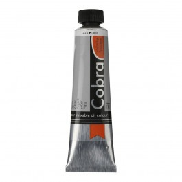 40ml - Cobra Artist Watermixable Oil - Series 3 - Silver