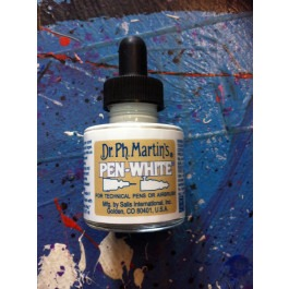 Art Medium Pen White (30ml) - Radiant Inks