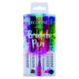 ECOLINE WATERCOLOUR BRUSH PEN SET 5