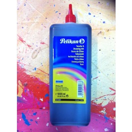 Pelikan 1000ml Black Drawing Ink