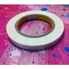 Double Sided Artists Tape (Flush) - 12mm x 50m