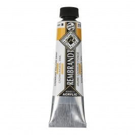 40ml - Rembrandt Acrylic - Cadmium yellow deep - Series 3