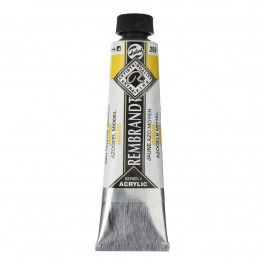 40ml - Rembrandt Acrylic - (Cadm. Equivalent) AZO yellow medium - Series 2