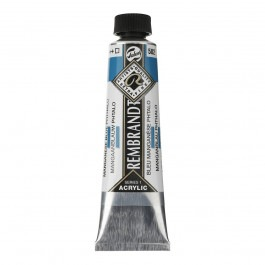 40ml - Rembrandt Acrylic - Manganese blue phthalo - Series 1