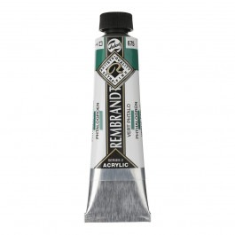 40ml - Rembrandt Acrylic - Phthalo green - Series 2