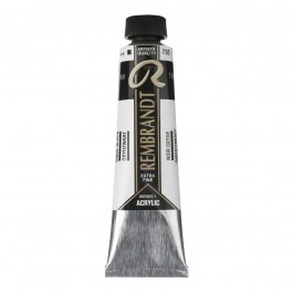 40ml - Rembrandt Acrylic - Oxide black - Series 1