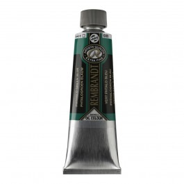 150ml - Rembrandt Oil - Phthalo green blue - Series 3