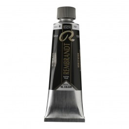 150ml - Rembrandt Oil - Ivory black - Series 1