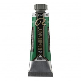 15ml - Rembrandt Oil - Permanent green deep - Series 3