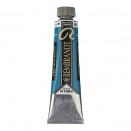 40ml - Rembrandt Oil - Cobalt turquoise blue - Series 5