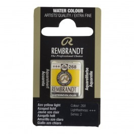 1/2 Pan - Rembrandt Watercolour - (Cadm. Equivalent) Azo yellow light - Series 2