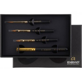 Set of 3 Travel Watercolour Brushes - Rembrandt