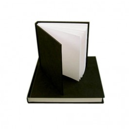 Quality Black Cloth Hardbacked Sketchbooks - 140gsm
