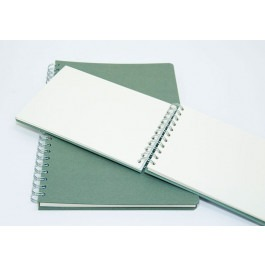 ECO-friendly Spiral Sketchbooks - 130gsm, 50 Sheets